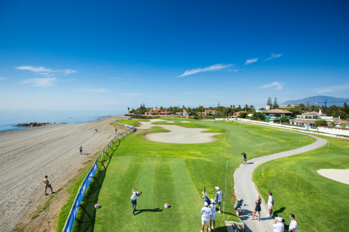 Panorama of Royal Guadalmina Golf Club